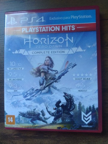 Horizon Zero Down PS4.