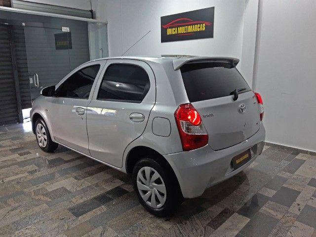 Toyota Etios X 1.3 completo / Multimidia Original / Pneus novos / Ipva Pago - 2016 - Foto 3