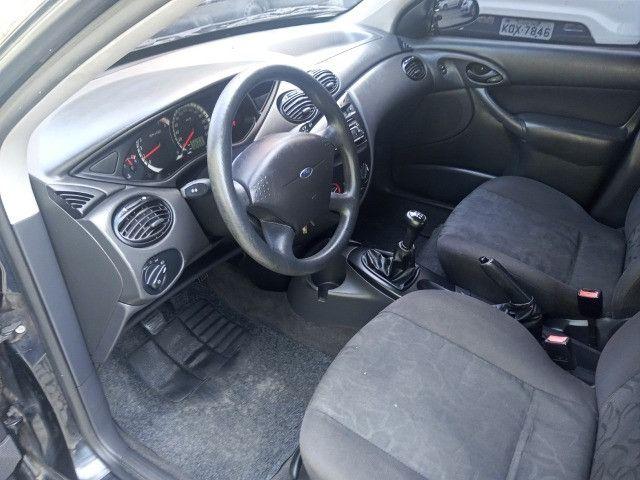 Ford Focus 2009 Hatch Gl 1.6 8v flex+completíssimo+revisado+novíssimo!!! - Foto 10