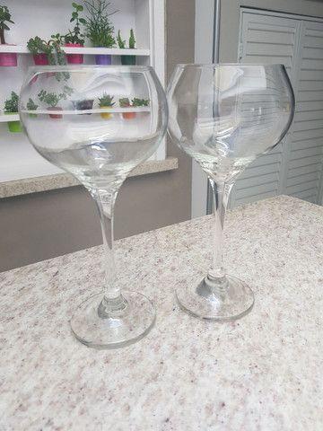 5 taças de vinho  - Foto 2