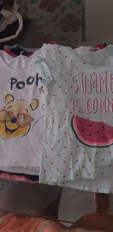 Lote camisetas menina - Foto 2