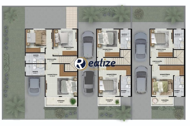 CA00180 Linda Casa Duplex de 2 quartos sendo 2 suítes em Santa Monica - Foto 13