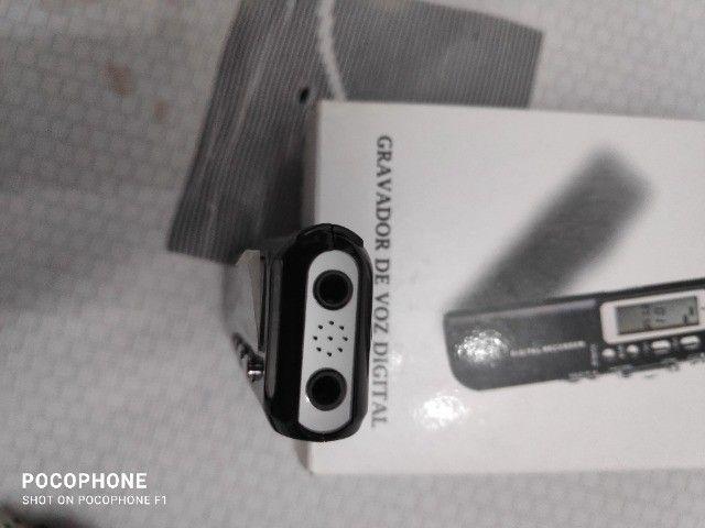 Mini gravador de voz digital - Foto 5