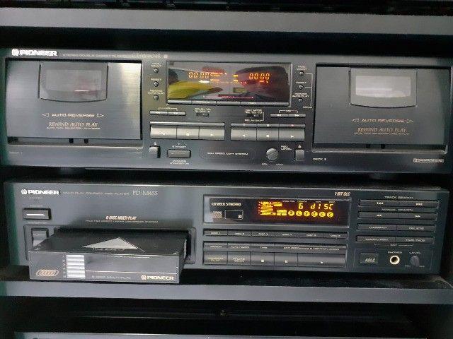 Som Pioneer (Receiver, Equalizador, CD Changer, Tape Deck, Rack) - Foto 3