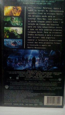 VHS - Matrix Revolutions (Dublado)(Original-WB) - Foto 2