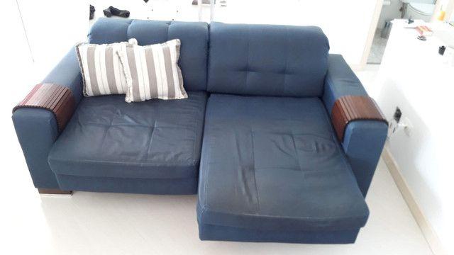Sofá 2 lugares com chaises retráteis - Foto 2