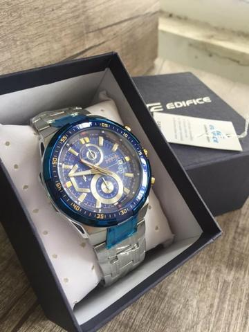 f7c733b962b3 Relógios Casio Masculino Edifice Ef-539 AAA+ 100% Funcional ...