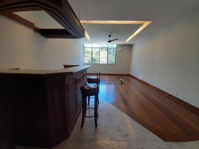 Apartamento com 3 dormitórios para alugar, 130 m² por R$ 3.700/mês - Laranjeiras - Rio de  - Foto 17