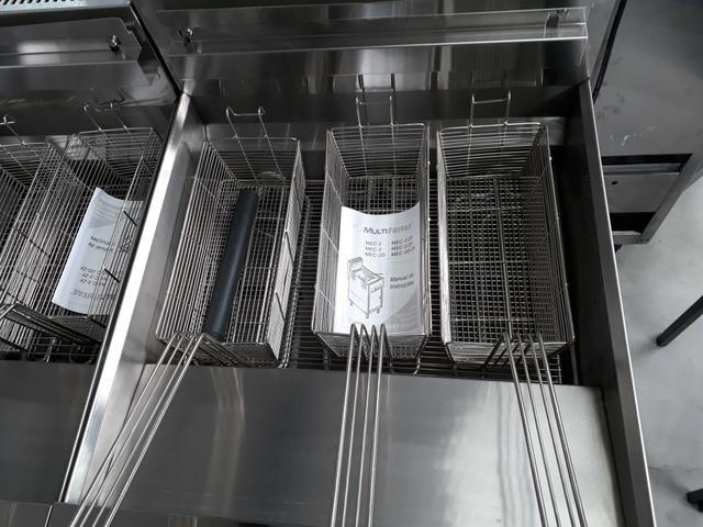 Mec-3 Fritadeira elétrica água e óleo Multifritas - Foto 2