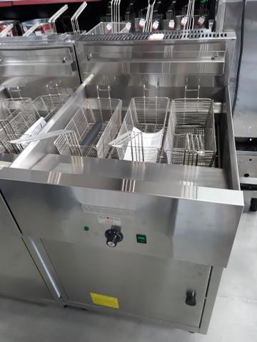 Mec-3 Fritadeira elétrica água e óleo Multifritas