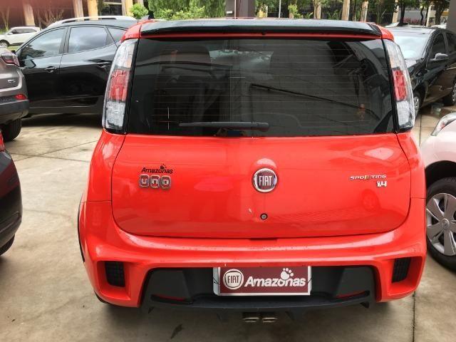 Fiat Uno 1.4 Evo Sporting 8v Flex 4 portas Automatizado vermelho 2015 - Foto 2