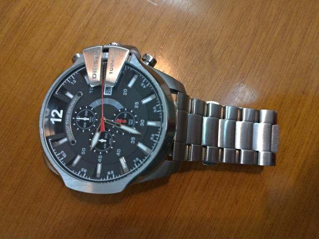 8c605af1001 Relógio diesel dz4308 689 12x s juros ou 550 av aceito trocas ...