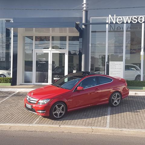 Mercedes coupe 2013