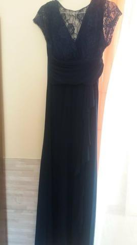 316f4631074a6 Vestido de festa azul marinho - Roupas e calçados - Grama