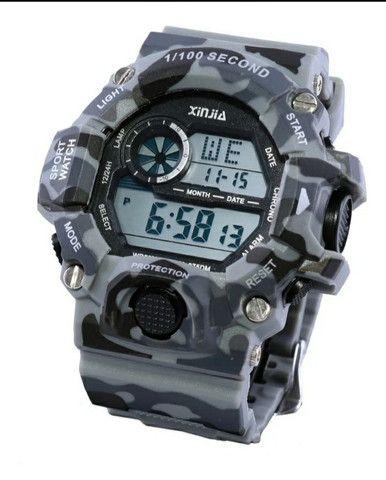 Relógio a prova d'água camuflado  - Foto 2