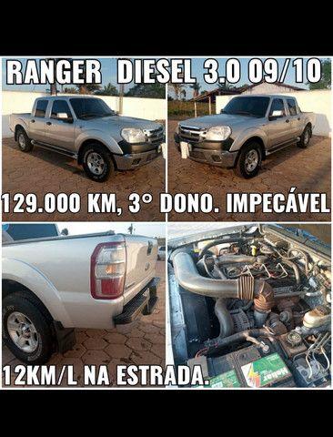 Ranger diesel 3.0 09/10, 4x2, impecável
