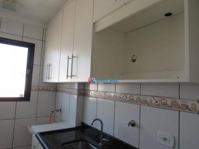 Apartamento com 2 dormitórios à venda, 42 m² por R$ 170.000 - Chácara Bela Vista - Sumaré/ - Foto 12