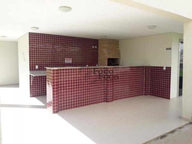 Apartamento com 2 dormitórios para alugar, 45 m² por R$ 650/mês - Água Chata - Guarulhos/S - Foto 17