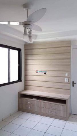 Apartamento com 2 dormitórios à venda, 42 m² por R$ 170.000 - Chácara Bela Vista - Sumaré/