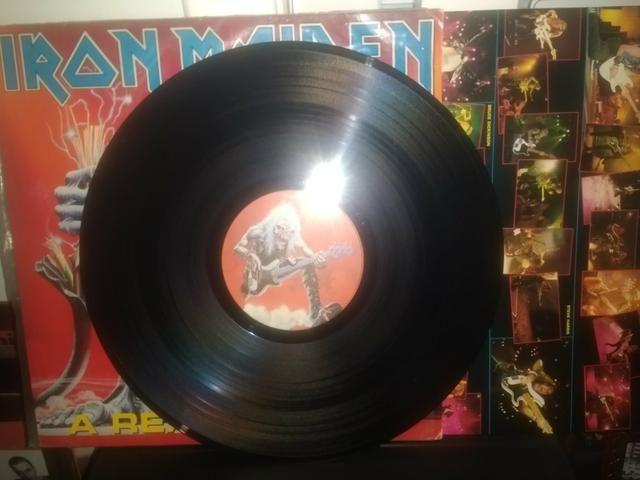 Iron Maiden Disco ao vivo - Foto 2
