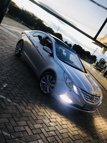 Sonata 2012 GLS versão Mais Top Aro 18 - Foto 14