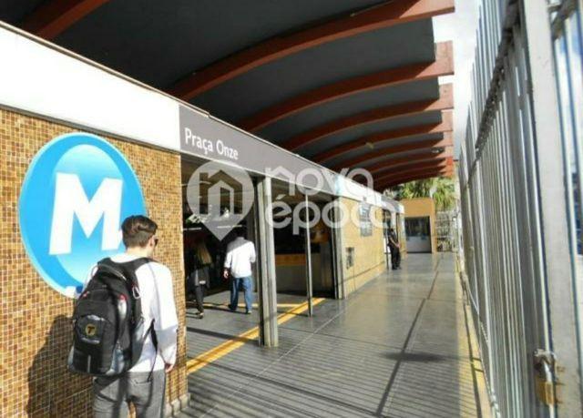 Metrô na porta - Lindo ap 2 quartos (reversível p/ 3),dependência c/ banheiro, reformado - Foto 14