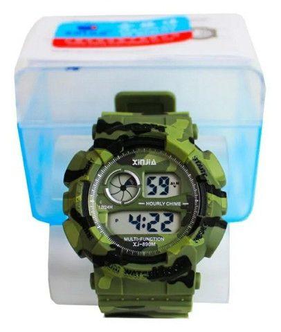 Relógio a prova d'água camuflado  - Foto 6