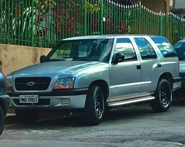 Blazer Pitbull V6 troco