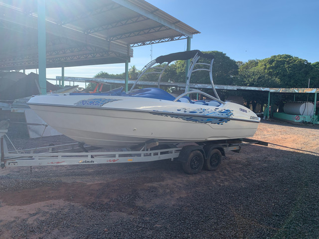 Lancha Jet boat colunna mercury 250 HP - Foto 5