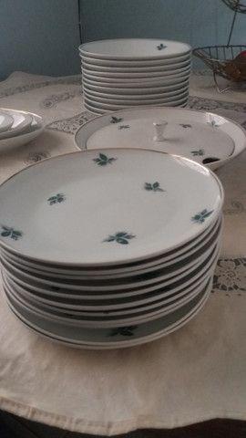 Jogo jantar porcelana Schmidt