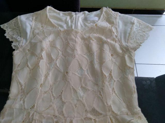 Vendo vestido de Renda  - Foto 4