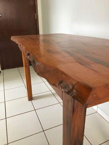 Mesa em madeira envernizada - Foto 5