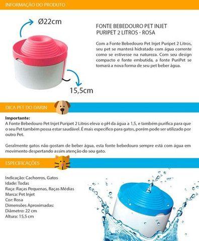 Fonte de agua para gato e cachorro - Foto 5