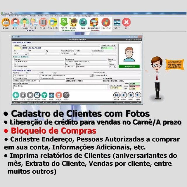 Frente de Caixa, Software PDV, Controle Estoque, Financeiro, Despesas - Manaus - Foto 5