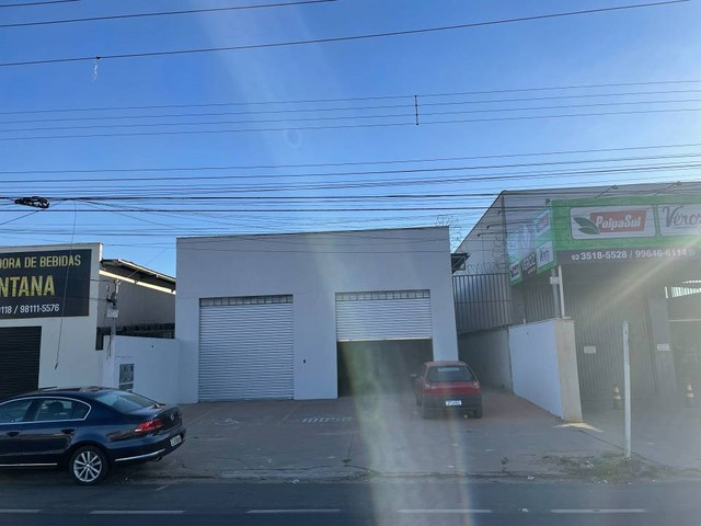 Galpão para aluguel ou venda 170m² 02 banheiros e copa. Anel Viário St. Papilon Park - Foto 2