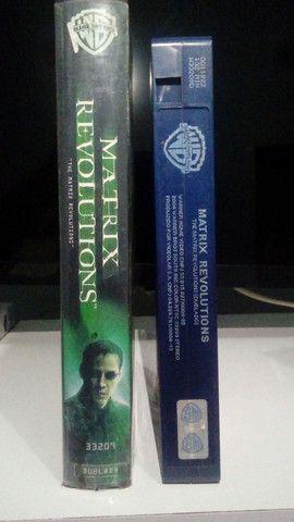 VHS - Matrix Revolutions (Dublado)(Original-WB) - Foto 3