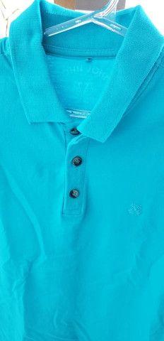 Camiseta polo john john azul