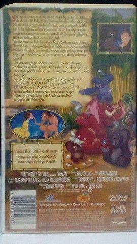 VHS - Tarzan (Dublado)(Original) - Foto 2