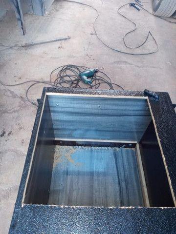 Caixa de cozinha e geladeira 85 litros de caminhão  - Foto 5