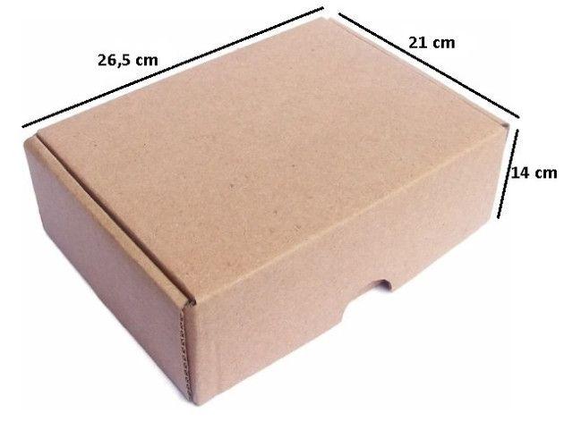 Caixa correio 26x21x14 pct 25un