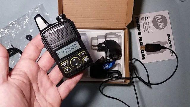 Baofeng Walkie Talkie Bf-t1 Mini Rádio Uhf 400-480mhz - Foto 2