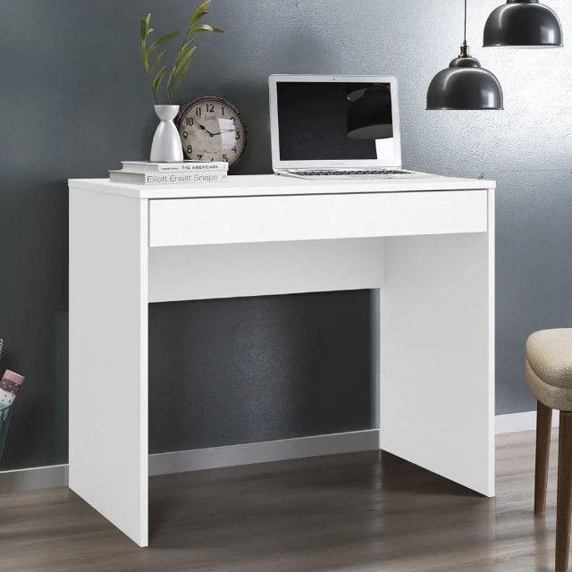Escrivaninha Com 1 Gaveta Branco