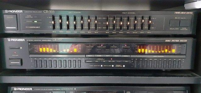 Som Pioneer (Receiver, Equalizador, CD Changer, Tape Deck, Rack) - Foto 2