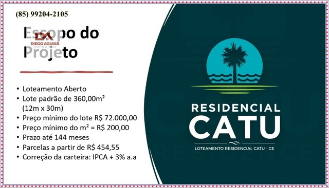 Loteamento Residencial Catu I*&¨%$ - Foto 6