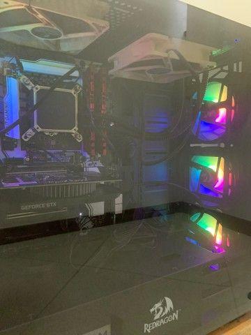 Computador gamer i7 7700k 1050ti 16gb ddr4 ssd 256gb - Foto 4