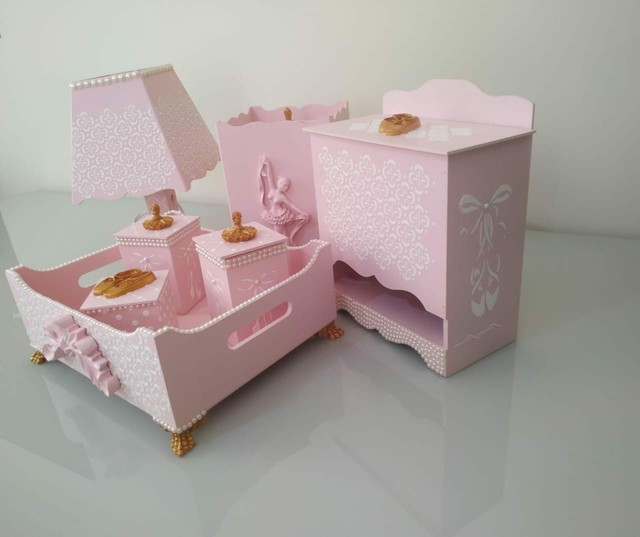 Kit higiene bebê luxo - Foto 2