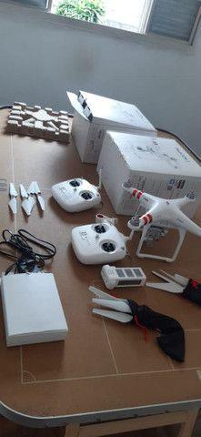 Drone Phatom 3 Standard.Com 30 Voos. Zerado - Foto 3