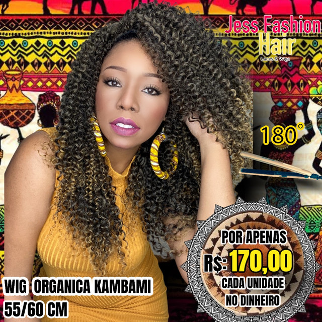 Wig KamBami fibra Futura R$:170,00 - Foto 2