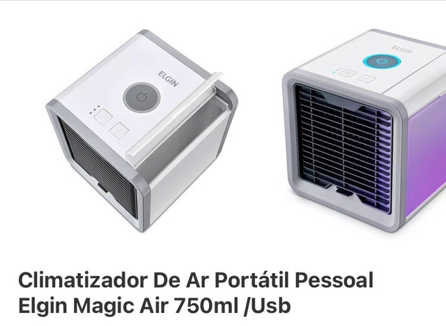 Mini Climatizador Elgin