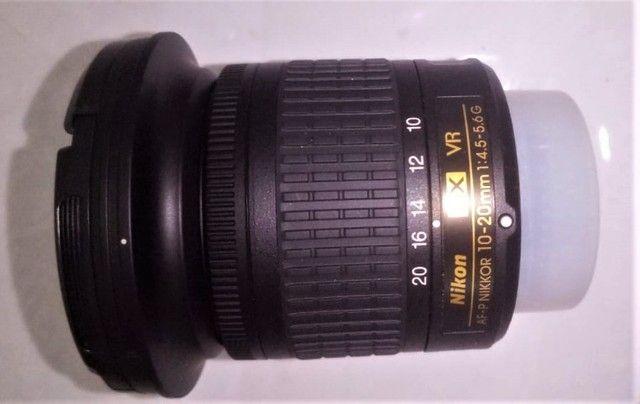 Lente Grande Angular Nikon Af-p Dx Nikkor 10-20mm F/4.5-5.6g Vr - Foto 4